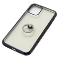 iPhone 11 Pro用 5.8インチ ジャケット リング付き ラインストーン
